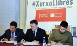 La Generalitat activa en la web el formulario para que las familias soliciten la gratuidad de los libros de texto.