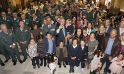 La Guardia Civil y la Fundación Síndrome de Down de Madrid presentan el Calendario solidario 2016 (2)
