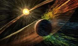 La NASA descubrió que una tormenta solar destruyó la atmósfera de Marte