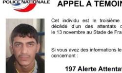 La Policía de Francia difunde la foto del tercer kamikaze que atentó en Saint-Denis.