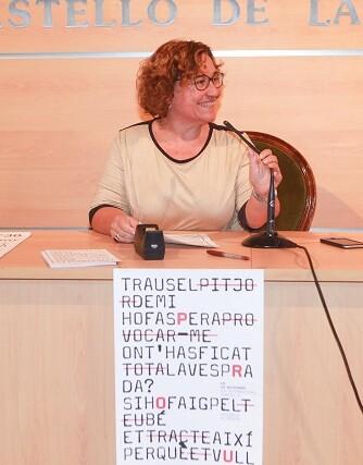 La concejala de Igualdad, Ali Brancal.