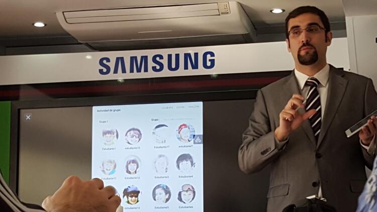 La solución Samsung School llega a Valencia para acercar a profesores y familias el concepto de e-ducación (3)