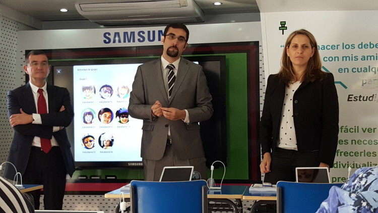La solución Samsung School llega a Valencia para acercar a profesores y familias el concepto de e-ducación (4)