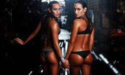 Las gemelas Figueiredo, bellas nadadoras de Brasil  (12)