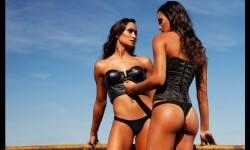 Las gemelas Figueiredo, bellas nadadoras de Brasil  (13)