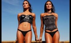 Las gemelas Figueiredo, bellas nadadoras de Brasil  (14)
