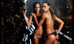 Las gemelas Figueiredo, bellas nadadoras de Brasil  (15)