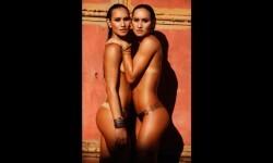 Las gemelas Figueiredo, bellas nadadoras de Brasil  (17)