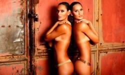 Las gemelas Figueiredo, bellas nadadoras de Brasil  (20)