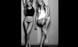 Las gemelas Figueiredo, bellas nadadoras de Brasil  (27)