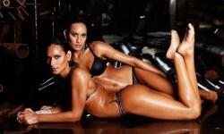 Las gemelas Figueiredo, bellas nadadoras de Brasil  (5)