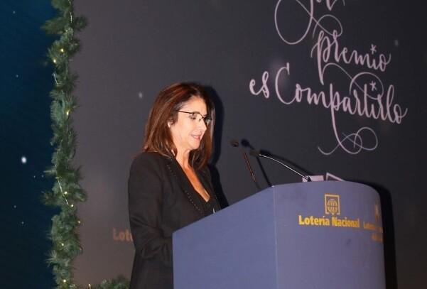 Loterías presenta el Sorteo de la Lotería de Navidad 2015.