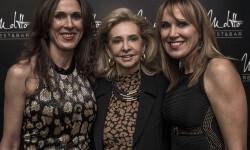 Mayren Beneyto con Mª Paz y Lourdes Luz