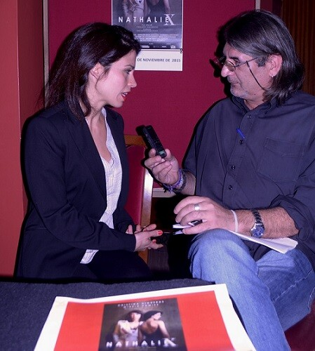 Mereia Pàmies durante un momento de la entrevista.