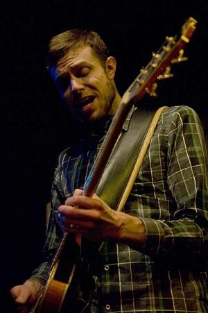 Mikkel Ploug en una actuación.  (Foto-Jorge Ribera).