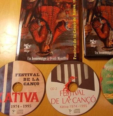 Montllor va participar com a cantautor 4 vegades en el festival de la Cançó de Xàtiva.
