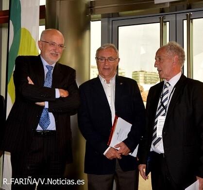 Paco Roig, Joan Ribó y Francisco Borao.