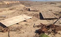 Pasarelas dañadas playa de Burriana (2)
