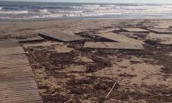 Pasarelas dañadas playa de Burriana (3)