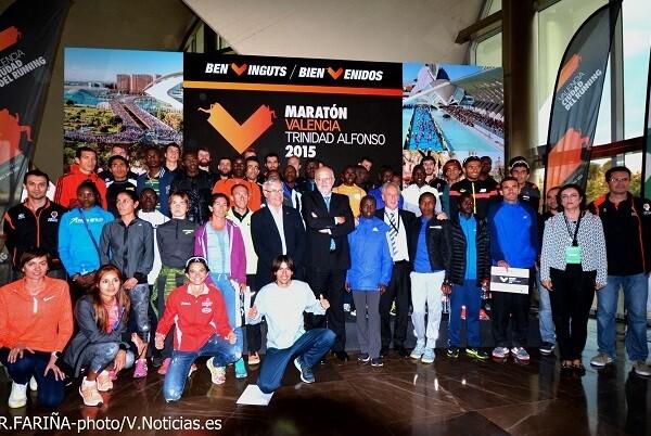 Pistoletazo de salida para la XXXV edición del Maratón Valencia Trinidad Alfonso.