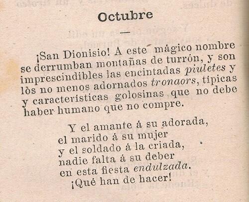 Piuleta i tronador. Confitería Burriel. 1893.