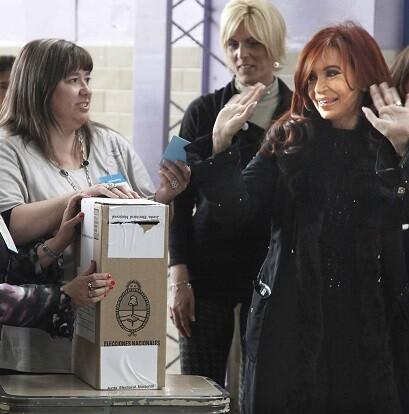 Por primera vez Argentina elige su presidente en ballotage.