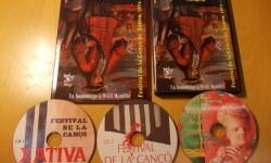 Presentació del llibre amb 3 CD's 'Festival de la canço de Xàtiva 1974-1995'.