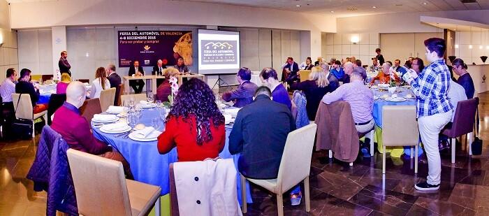 Presentación oficial ante los medios de comunicación de la decimoctava edición de la Feria del Automóvil, Vehículo de Ocasión y Comercial de Valencia.