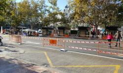 Primer domingo de la plaza del Ayuntamiento de Valencia cerrada para hacerla peatonal  (11)