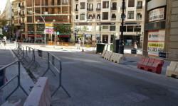 Primer domingo de la plaza del Ayuntamiento de Valencia cerrada para hacerla peatonal  (4)