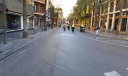 Primer domingo de la plaza del Ayuntamiento de Valencia cerrada para hacerla peatonal  (7)
