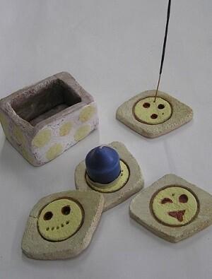 Productos elaborados de forma artesanal por personas con diversidad funcional intelectual.