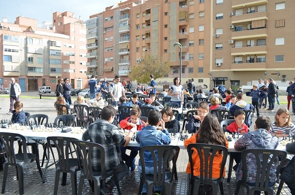 Quinta jornada del Torneo municipal de Ajedrez 'Juego Limpio'.