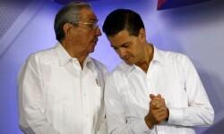 Raúl Castro dejará el poder en Cuba en 2018, según le informó al presidente mexicano Peña Nieto durante su visita al país.