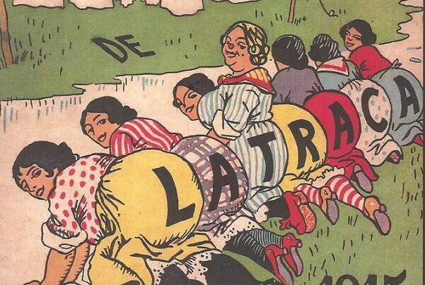 Rafael Solaz repasa y compila en el 'Almanacs de La Traca' el humor satírico de la revista de V.M. Carceller.