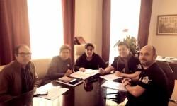 Reunión Ayuntamiento y PAHC