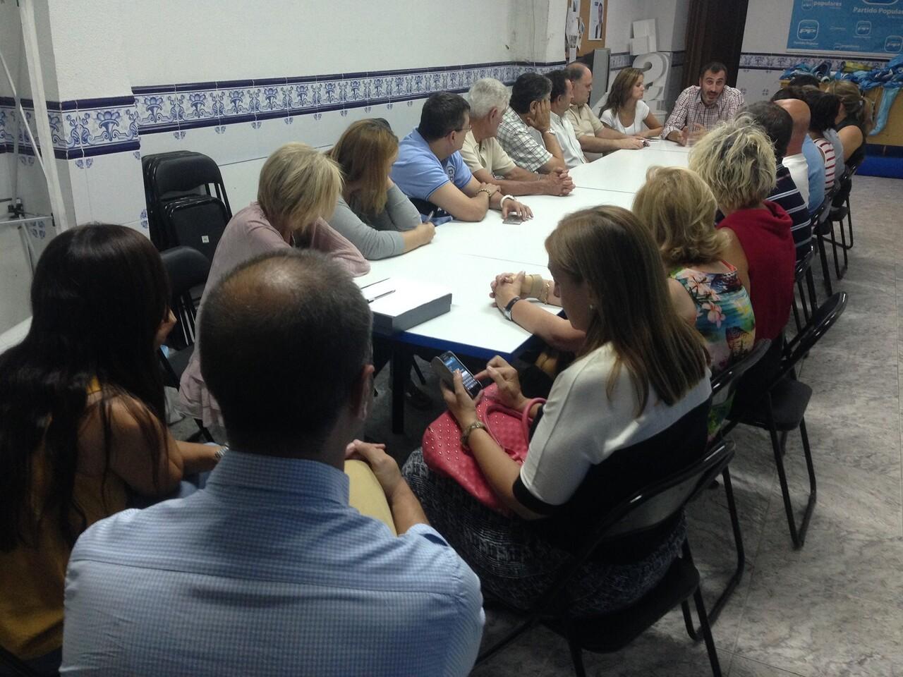 Reunión PP Burriana en sede (1)