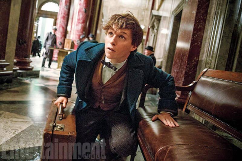 Revelan primeras imágenes del spin-off de Harry Potter (1)