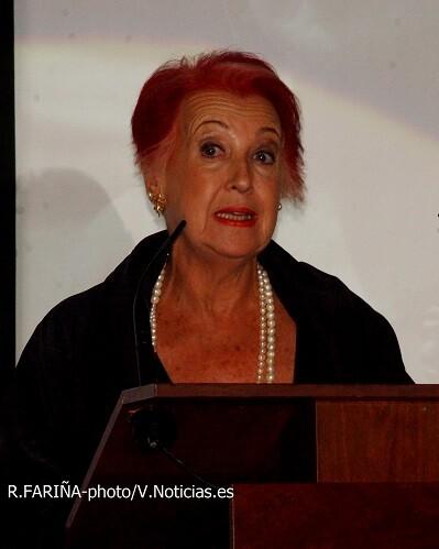 Rosa María Calaf, recorrió más de 170 países como corresponsal de RTVE.