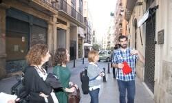 Un recorrido sirve para reivindicar la memoria histórica de Valencia como capital de la república.