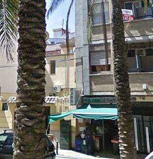Una calle en el barrio de Nazaret.