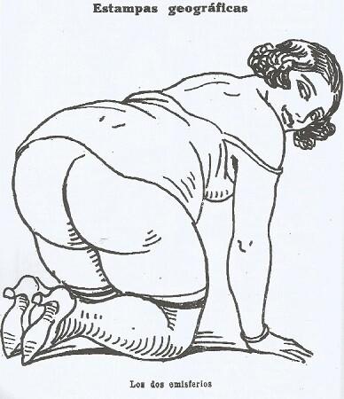 Uno de los dibujos de La Traca cuyo pie indica ' class=