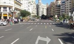 Valencia hará peatonal la Plaza del Ayuntamiento el último domingo de cada mes.