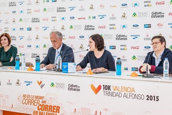 Valencia ya está preparada para acoger a los 25.000 corredores de la XXXV edición del Maratón Valencia Trinidad Alfonso.