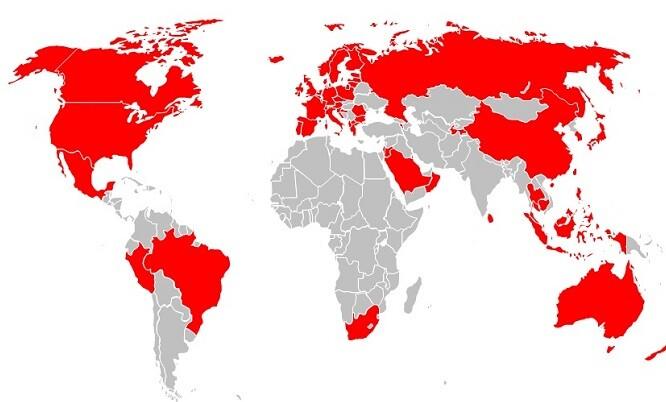 Vodafone España incluye roaming en Europa y en Estados Unidos en los planes Red y Vodafone ONE.