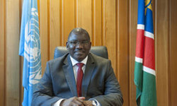 Mr Stanley Mutumba Simataa, President 38th GC