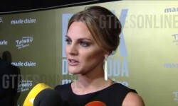 Amaia Salamanca da a conocer el nombre de su segundo hijo en los Prix de la Moda 2015