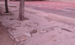 asfalto colegio