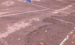 asfalto patio