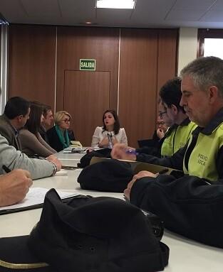 este primer encuentro tendrá continuidad mañana en una nueva reunión con los alcaldes pedáneos del sur.